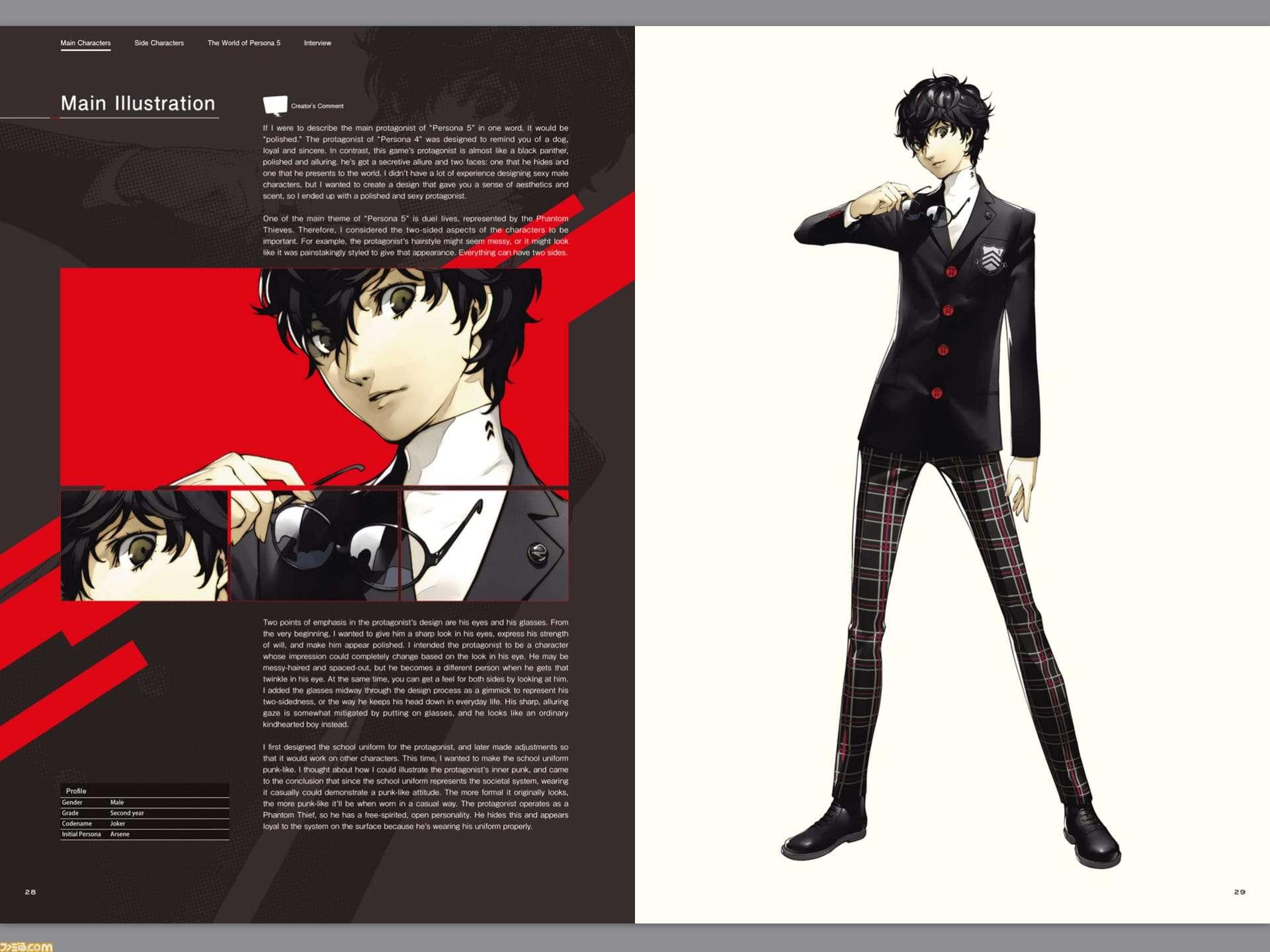 Persona 5 Original Art Book Released In English As An E Book Persona Central