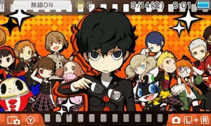 Persona Q2: New Cinema Labyrinth Nintendo 3DS Theme Released