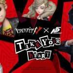Persona 5 x Identity V Collaboration Begins on August 8, 2019 [Update]