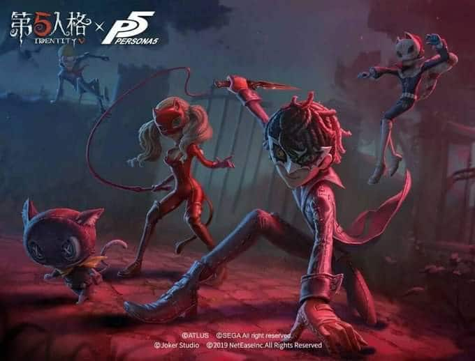 Persona 5 x Identity V Collaboration Begins on August 8, 2019