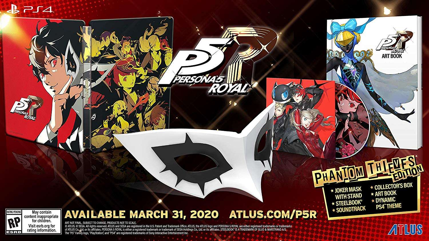 Persona 5 Royal Release Date Confirmed for March 31, 2020 in the West - Persona Central
