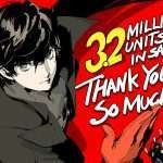Persona 5 Reaches 3.2 Million Copies Shipped Worldwide, Persona 5 Royal 400k Copies in Japan, Persona Series 11.1 Million Copies, PlayStation Awards 2019
