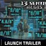 13 Sentinels: Aegis Rim Launch Trailer Released