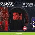 Fangamer Launches Shin Megami Tensei Series Merchandise Range