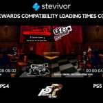 Stevivor: Persona 5 Royal PS5 vs PS4 Pro Loading Time Comparison Video
