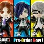 Persona Protagonist Cutie1+ Figures Announced