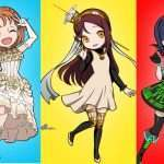 Love Live! School Idol Festival x Persona Series Collaboration Aqours Members as Persona Designs Revealed