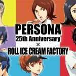 Persona x Roll Ice Cream Factory Collaboration Key Art Revealed